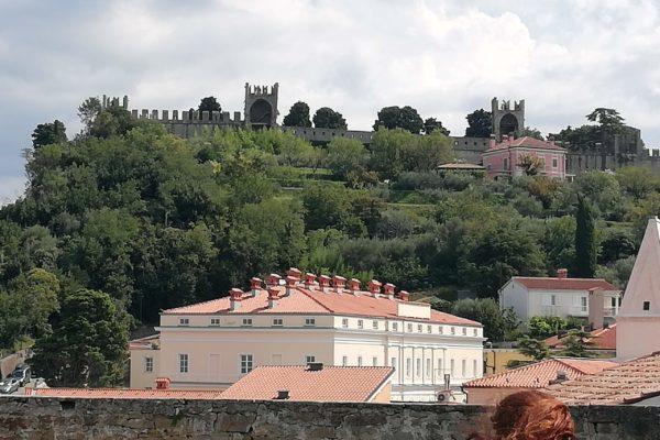 die alte Stadtmauer in Piran
